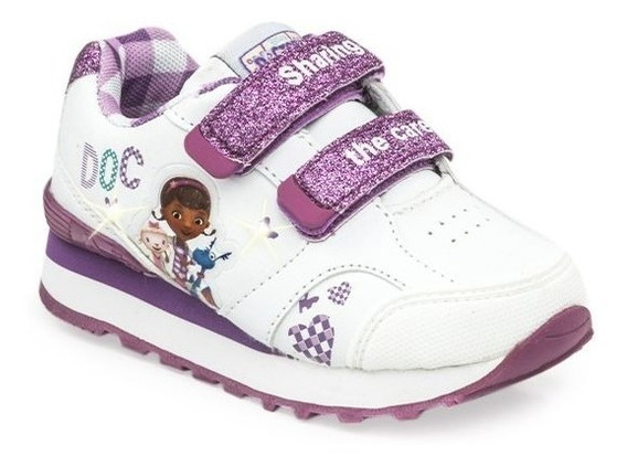 Addnice Zapatillas Niña Running Dra Velcro Blanco/ Violeta