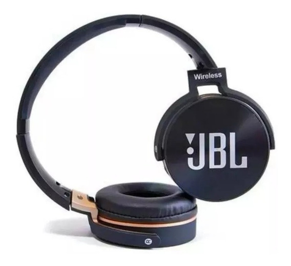 Fone De Ouvido Bluetooth Jbl Jb950 Super Bass Radio Fm Mp3