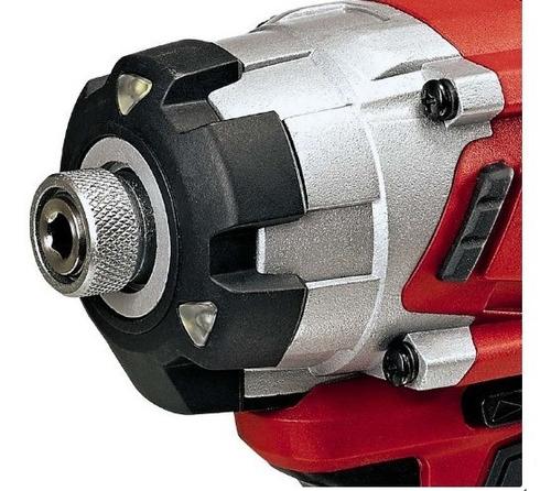 Negro//Rojo Atornillador de Impacto Einhell 4510030 TE-CI 18 Li BL Solo sin Bater/ía Cargador Power X-Change 18 V 4512097 Kit para principiantes que incluye Bater/ía 2,5 Ah