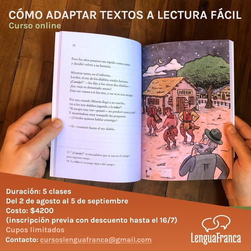 Imagen 1 de 1 de Cómo Adaptar Textos A Lectura Fácil - Curso Online Agosto21
