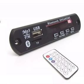 Placa Leitor De Usb Fm / Mp3 Bluetooth Radio Fm Controle