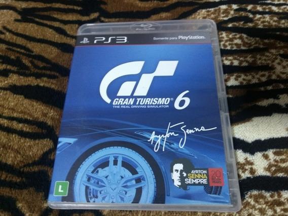 Jogo Ps3 Gran Turismo 6 Mídia Física