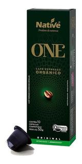3 Unid. Café Expresso Orgânico Native Em Cápsulas - 10 Cap.
