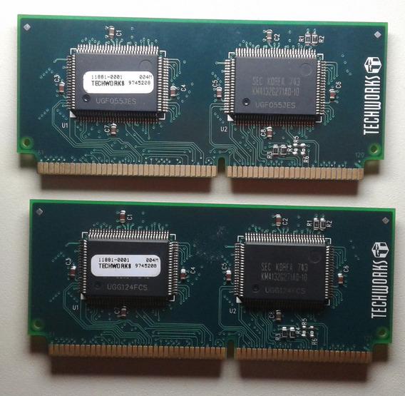 Techworks 120 Pin 4mb Sgram Video Dimm Para Mac Ppc 4400