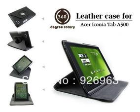 Capa De Couro 360º Acer Iconia A500