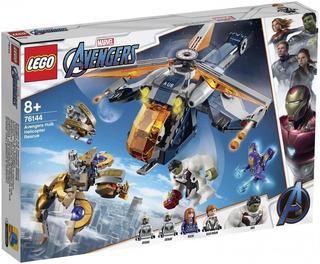 Lego Rescate En Helicóptero De Hulk Avengers Endgame 428pzs