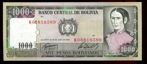 Cédulas Da Bolívia (quatro) - Flor Estampa - L.315