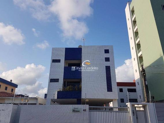 Apartamento Garden Com 3 Dormitórios À Venda, 87 M² Por R$ 225.000,00 - Bessa - João Pessoa/pb - Gd0072