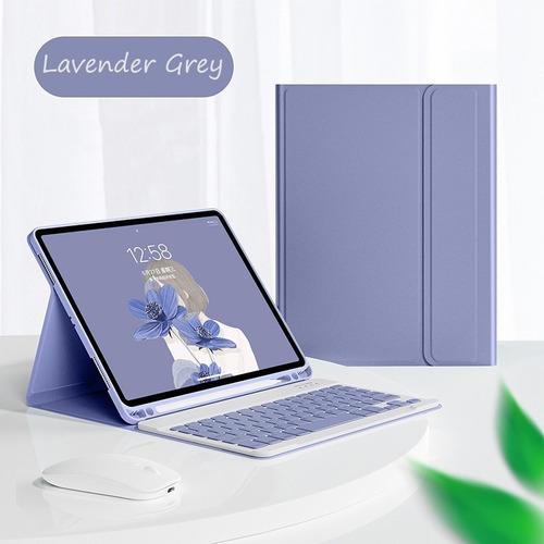 Imagen 1 de 8 de Funda Con Teclado Ratón Para iPad 9.7 6th 5th Gen Air 2 Ñ