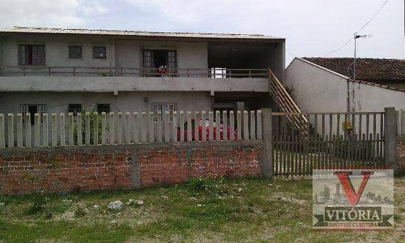 Sobrado + Casa Na Praia - 7 Dormitórios Para Comprar, 238.000 - Balneário Junara - Matinhos; Aceita Imóvel De Até 50% Do Valor Em Curitiba E Região - So0419