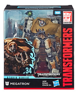 Figura Megatron Studio Series Transformers Generations