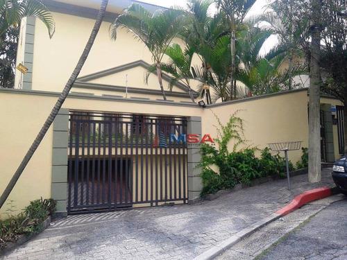 Imagem 1 de 13 de Casa À Venda Em Pinheiros. Lindo Sobrado Com  Dormitórios, Amplo Quintal Com Churrasqueira E 4 Vagas De Garagem - Ca0086