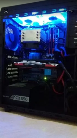 Computador Gamer Roda Tudo / Rx580 8gb /fifa 19/fortnite2019