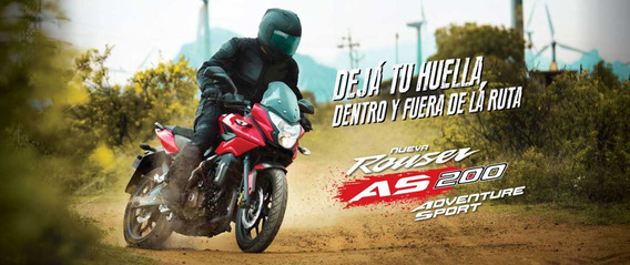 Bajaj Rouser As 200 - 0 Km - Bonetto Motos - ( No Ns Ni Rs )