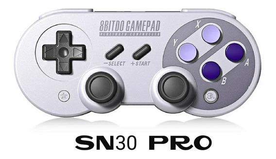 8bitdo Nes30 Pro, Controle Bluetooth, Pronta Entrega.