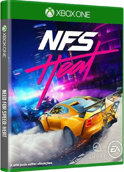 Need For Speed Heat Xbox One Mídia Física Lacrado Novo