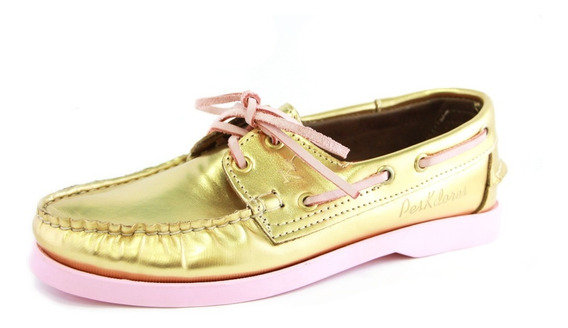 Zapatos Nauticos Mocasines Peskdores Gold Go00023