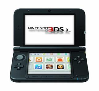 Nintendo 3ds Xl Black Modelo Antiguo
