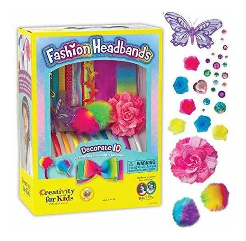 Juego De Artesanía Creativity For Kids Fashion Headbands,