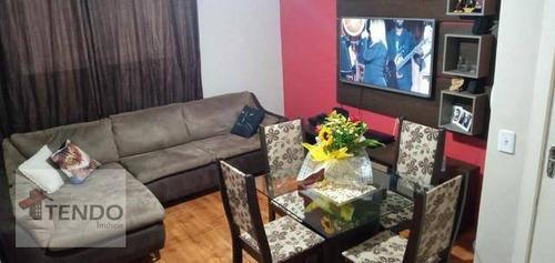 Imagem 1 de 15 de Apartamento 56 M² - Venda - 2 Dormitórios - Jardim Estrela - Mauá/sp  - Ap2299