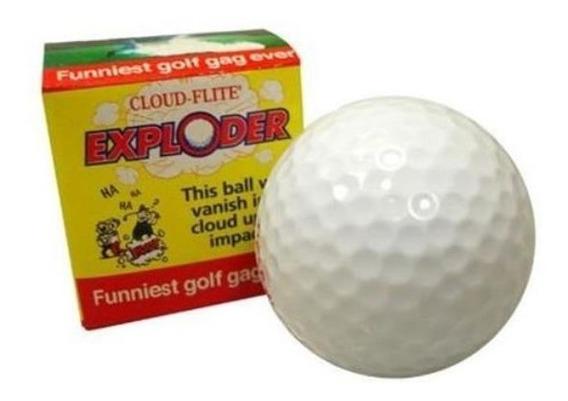 Bola De Golf Explosiva Broma Chasco / Alberico Magic