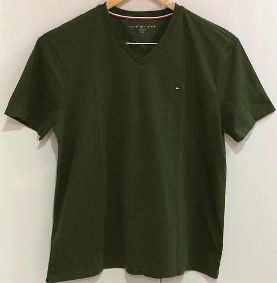 Camisa Malha Lisa Tommy Hilfiger - Original