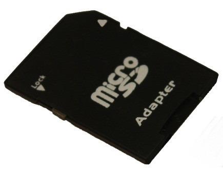 Adaptador De Cartão Memória Micro Sd Para Camera, Pc