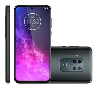 Smartphone Motorola One Zoom 128gb Dual Chip 4gb Titanium