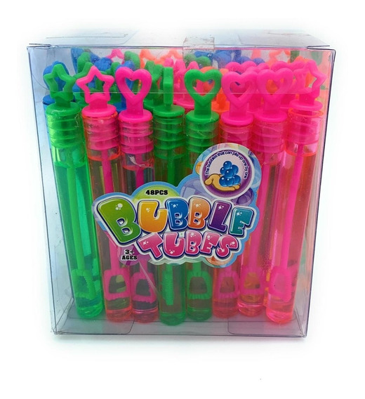 Paquete Burbujas De Gel De Colores En Tubo Con 48 Piezas