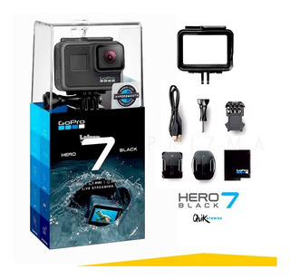 Go Pro Hero 7 Black Camara 4k Uhd Gopro Sellado Garantia