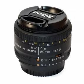 Lente Nikon 50 Mm F/1.8-af -fx