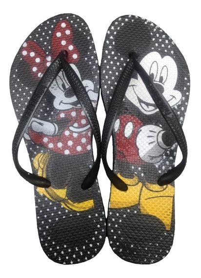 Chinelo Havaianas Minie E Mickey Verão Moda 2019