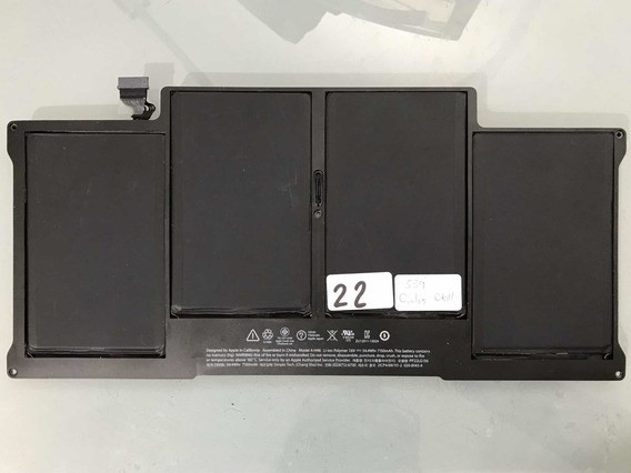 Bateria Macbook Air 13 A1496 Original Seminova 22