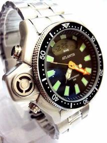 Relógio Atlantis Original Aqualand Modelo Jp2000