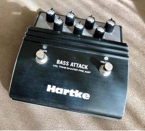 Pedal Simulador Hartke Bass Attack Behringer Line 6 Phantom