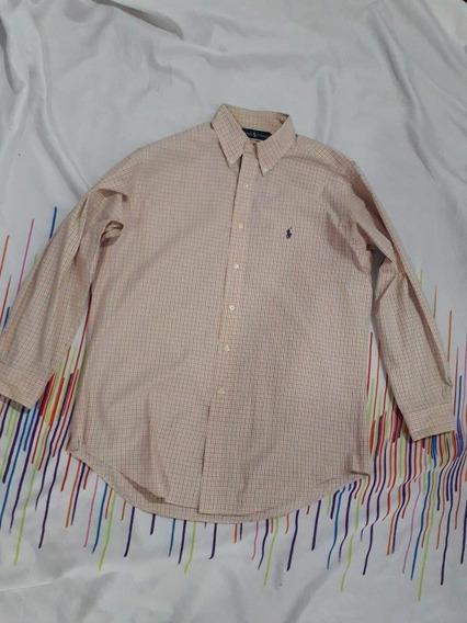 Bd Camisa Polo Ralph Laurent Talla 16 Es L Kiza Xl N-lacoste
