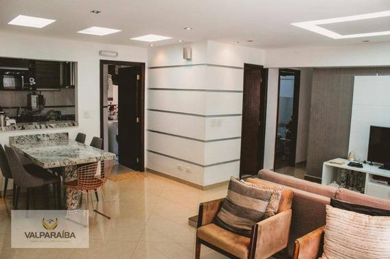 Apartamento Com 3 Dormitórios À Venda, 98 M² Por R$ 530.000 - Jardim Aquarius - São José Dos Campos/sp - Ap0377