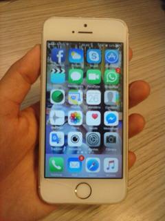 iPhone 5s Apple Com 16gb, Dourado