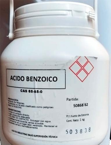Acido Benzoico 1kg. Conservante