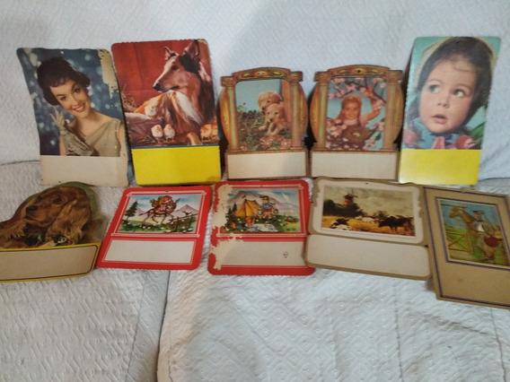 Antiguas Muestras De Almanaques. Varios Motivos.