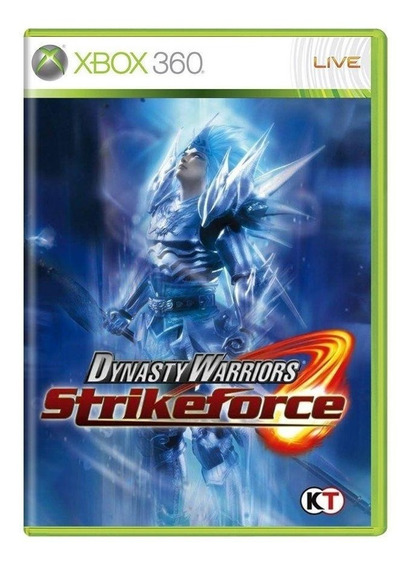 Dynasty Warriors Strikeforce Xbox 360 Mídia Física