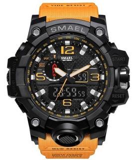 Reloj Tactico Militar Smael Sumergible Varios Colores