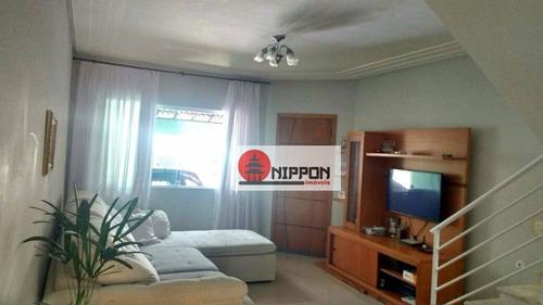 Sobrado Residencial À Venda, Jardim Luciara, Guarulhos. - So0049