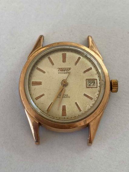 Relógio Tissot Visodate Antigo (sem O Fundo)