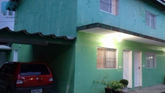 Sobrado A Venda No Bairro Jardim Santa Maria Em Guarujá - - 657-1