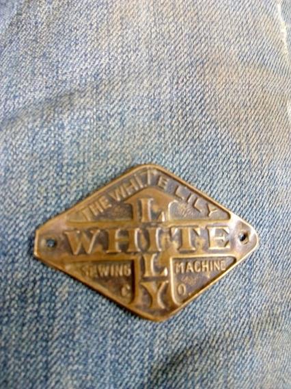 Emblema Maquina Costura Antiga