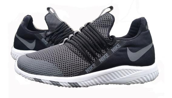 Zapatos Nike Capsule Gris Para Damas Y Caballeros