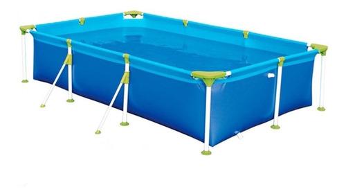 Piscina estrutural retangular Mor 001012 com capacidade de 2500 litros de 2.71m de comprimento x 1.56m de largura azul