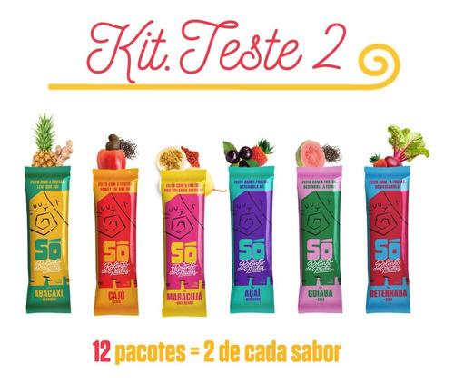 Kit.teste 12 Rolinho De Frutas 20g (sem Glúten) - 6 Sabores