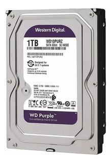Wd Purple 3.5 1tb Sata3 6gb/s 64mb 24x7 Para Dvr